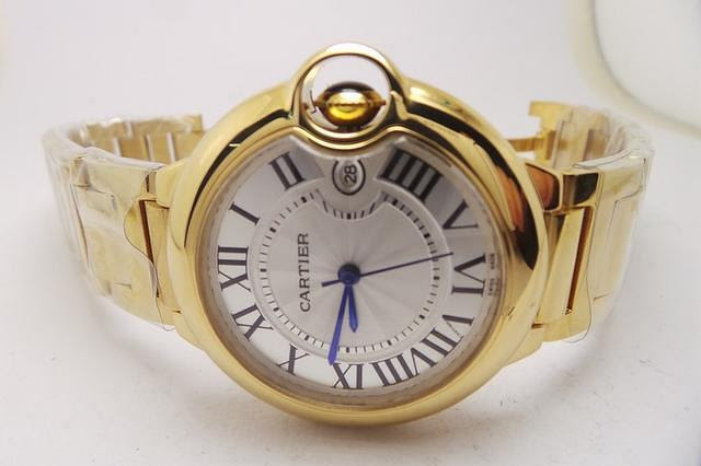 Cartier Ballon Bleu Blue Hands