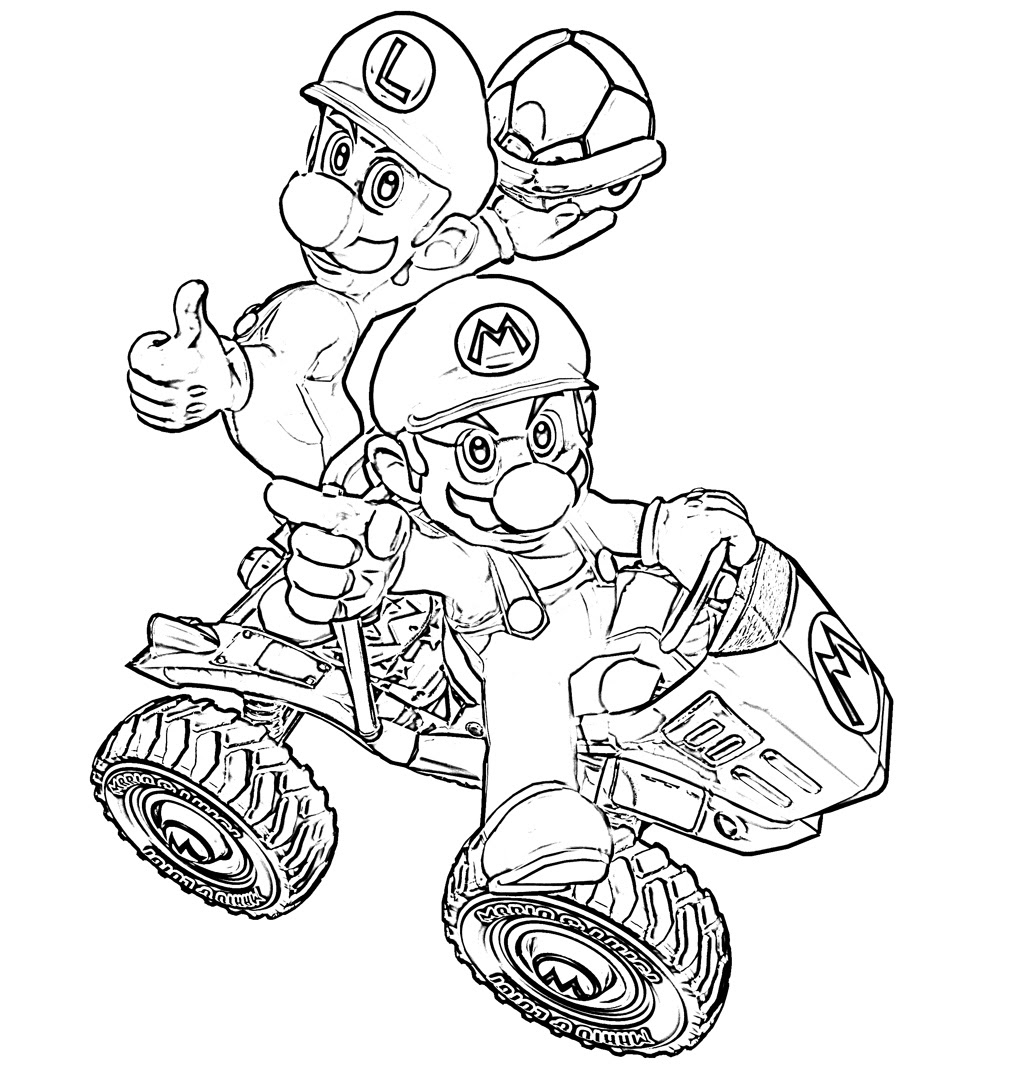 Imprimer le coloriage Personnages celebres Nintendo Wario numéro