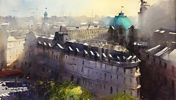 architectural water colors 15