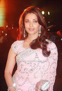 aishwarya rai saree in pink saree2
