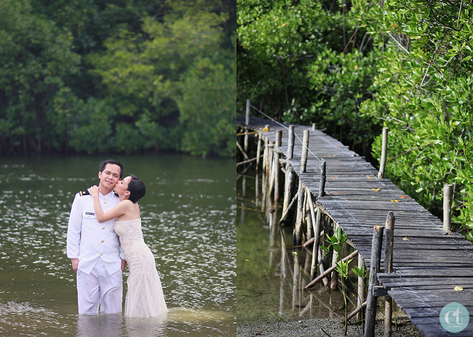 Cebu Wedding Photographer, Sumilon Island Resort Post-wedding Session