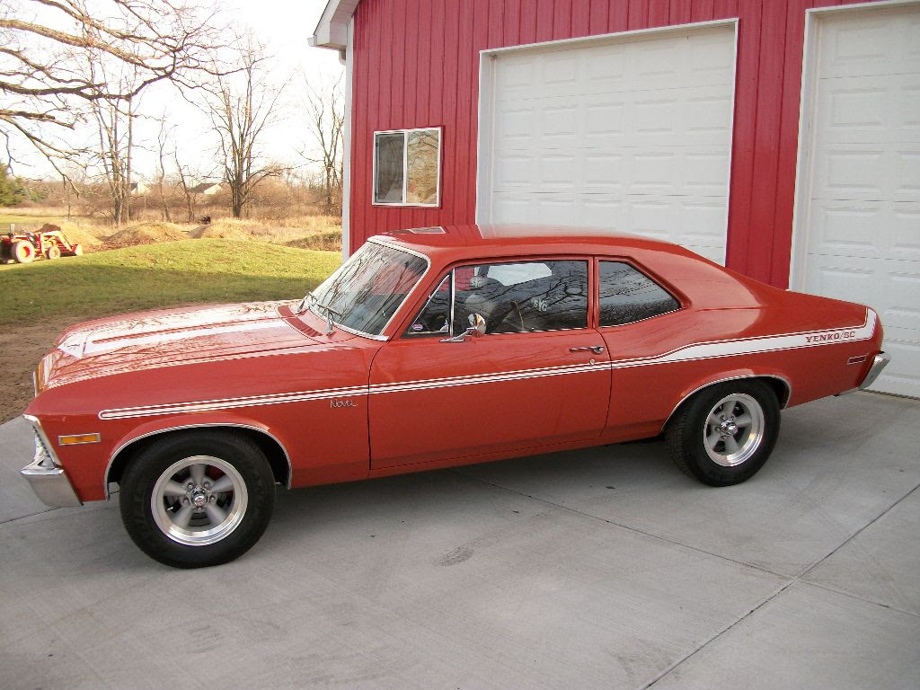 Sold 1972 Nova Yenko Tribute Ross Customs