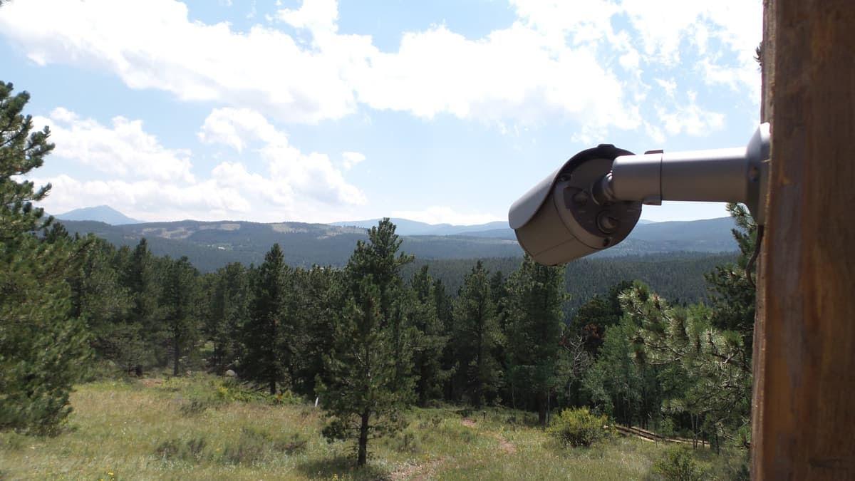 CCTV Camera Colorado Mountain View