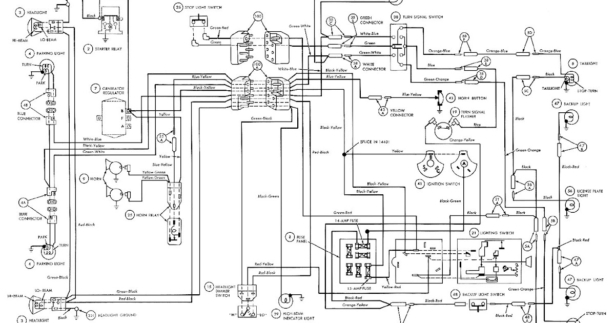 1994 Mustang Turn Signal Wiring Diagram