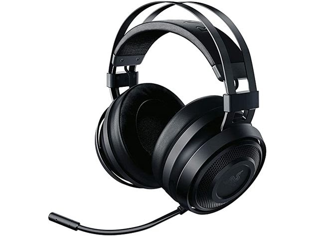 Razer Nari Essential Wireless THX Spatial Audio Gaming Headset, Classic Black for $71