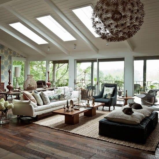 19 Ways You Can Use Modern Furnishings to Design The Interior Decor Of A Sun-Room (3)