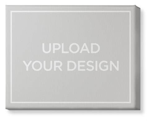 Upload Your Own Design Canvas Print   Wall Art   Shutterfly