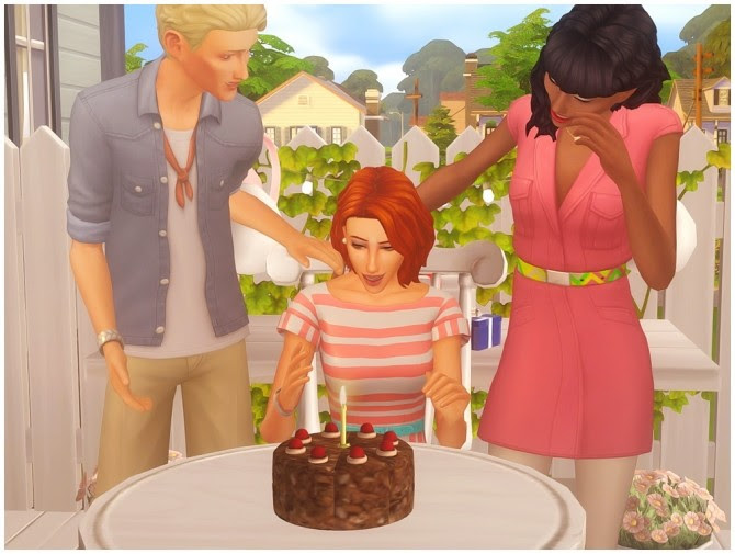 Birthday Cake Sims 4 The Cake Boutique