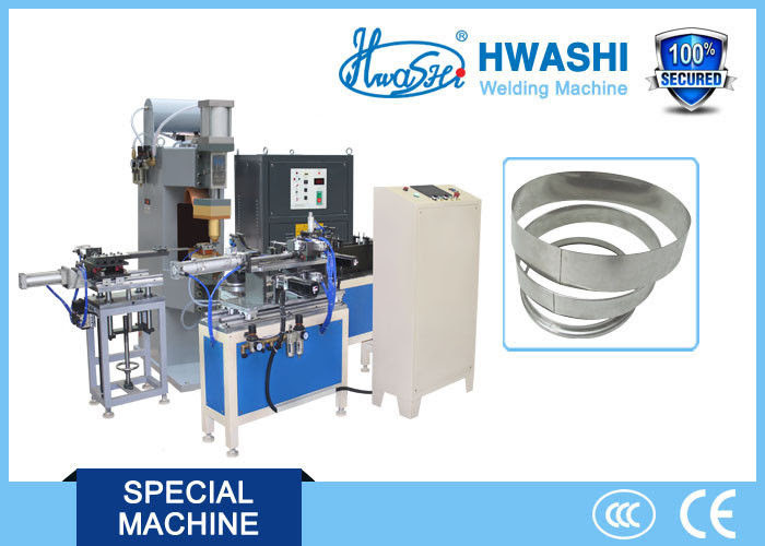 Full Automatic Glass Lid Stainless Steel Strip Welding ...