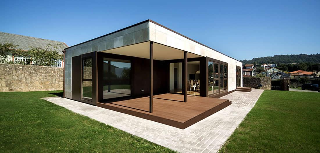 Casas de madera prefabricadas casas prefabricadas economicas fotos y precios - Precio casa prefabricada ...
