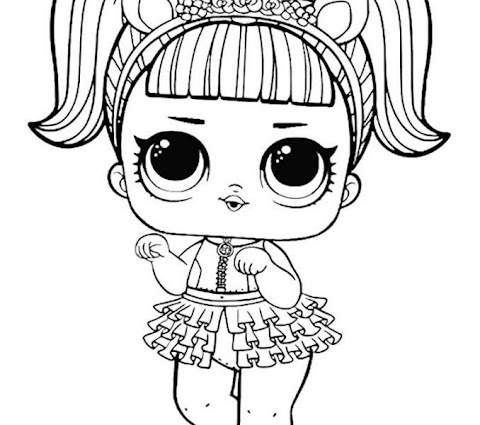 Trends For Lol Surprise Doll Coloring Pages Printable