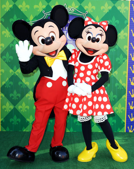 Mickey Mouse And Minnie Mouse Photos Photos Premiere Of Disneys