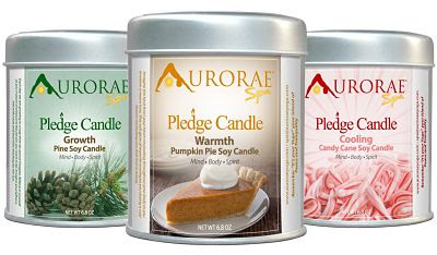 Aurorae Scented Soy Wax Candle Gift Set Giveaway
