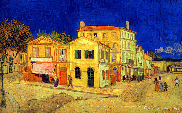 Vincent van Gogh - The Yellow House - 1920 1200 Wallpapers - Click for Larger Image