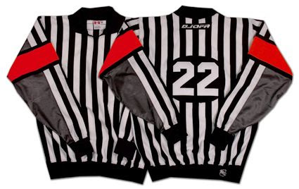 2000's NHL referee's sweater