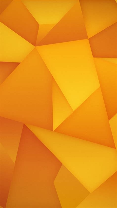 Yellow Blocks Galaxy S4 Wallpaper (1080x1920)