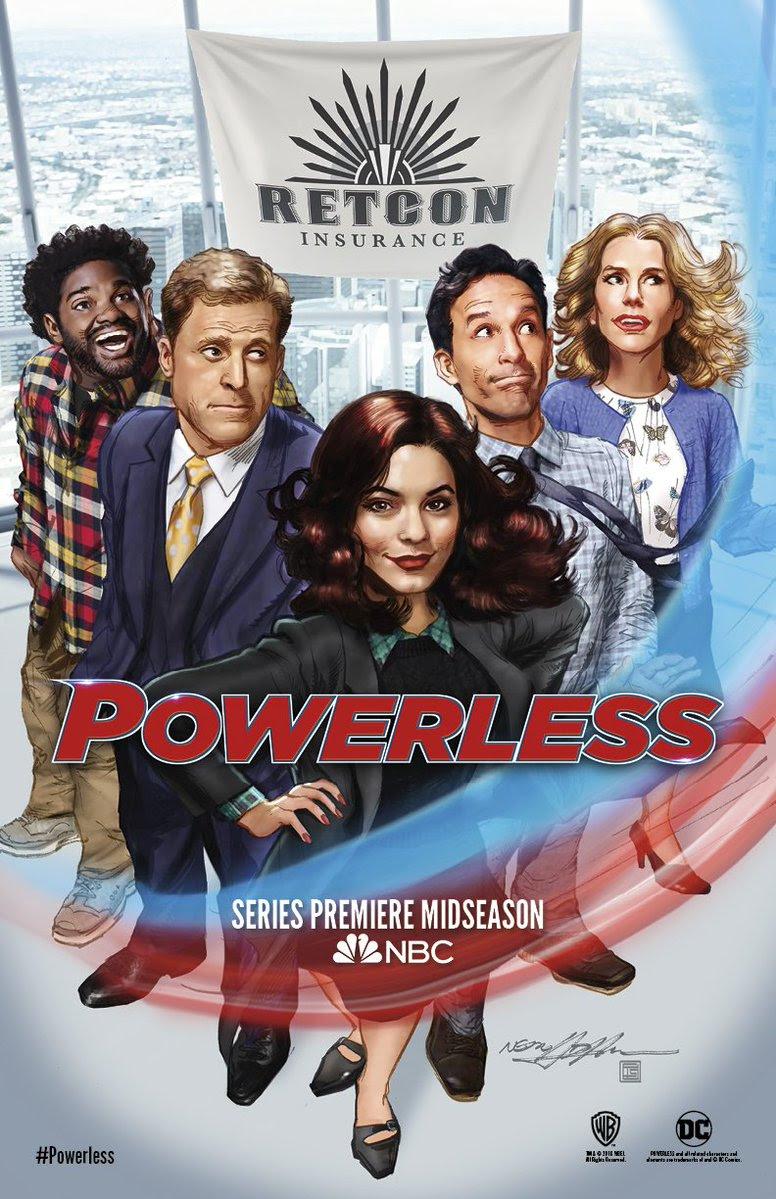 Resultado de imagem para powerless NBC
