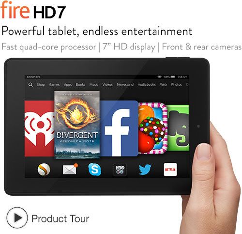 Fire HD 7: quick tour