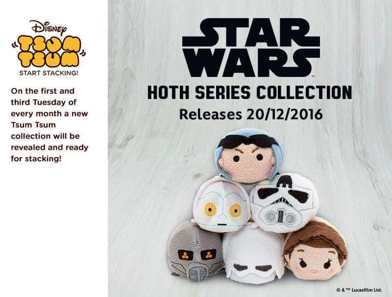 Star Wars: The Empire Strikes Back Tsum Tsum Release Date
