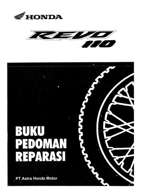 Buku Manual Honda Revo 110 - BUKU MANUAL