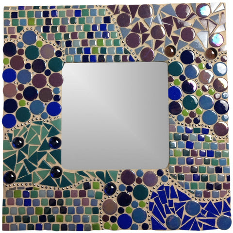 A Quick But Gorgeous Mosaic Photo Frame Project At The Mosaic Store