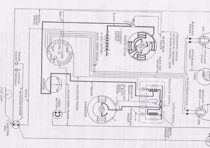 fordson dextum 12 volt wiring diagram