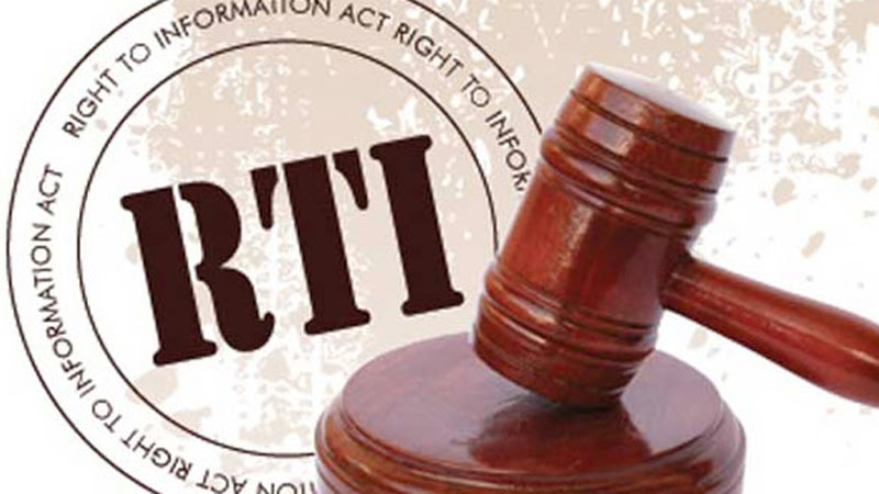 'People show high interest in receiving information under RTI'