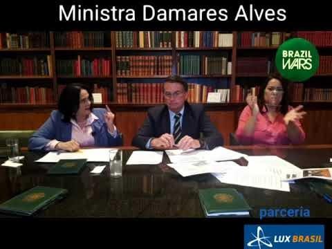 Damares denuncia rede internacional de pedofilia a partir do Brasil.