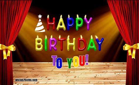 250 Happy Birthday Wishes   Wishes Poems