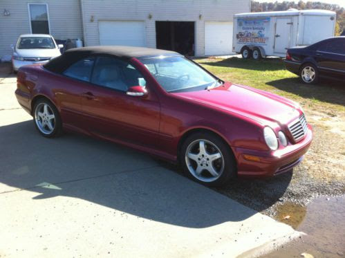 Purchase used 2003 Mercedes Benz CLK430 convertible CLK ...