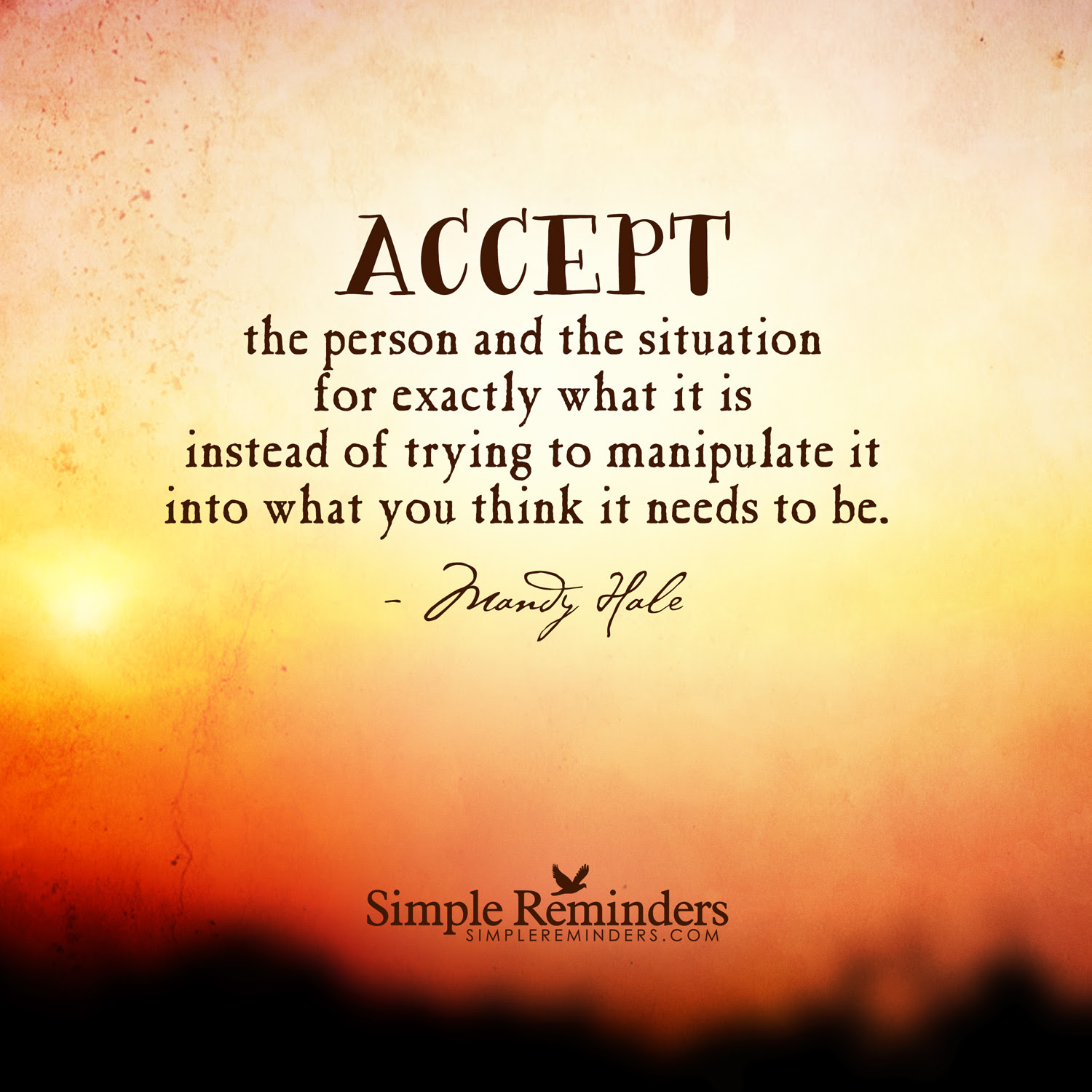 Quotes About Accepting Situations 29 Quotes