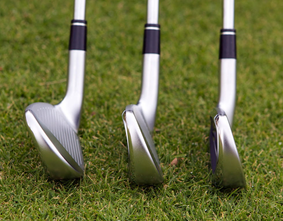 side view of irons