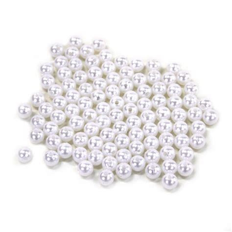 10mm Loose White Pearls (1 LB Bulk Pearls) [10mmEBEAD Buy