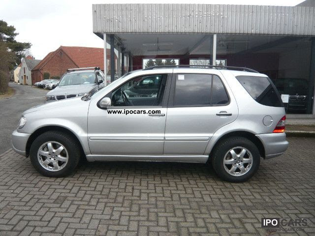 2003 Mercedes-Benz ML 500 7-seater - Car Photo and Specs