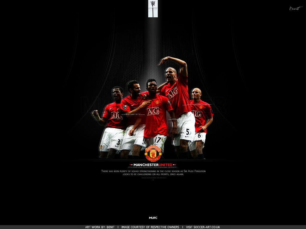 Wallpaper Football Manchester United Profil Pemain Sepak Bola