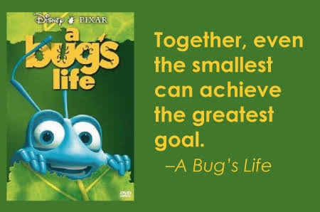 Together Even The Smallest Can Achieve The Greatest Goal From A