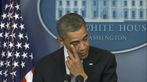 abc obama tears tk 121214 wblog LIVE UPDATES: Newtown, Conn., School Shooting