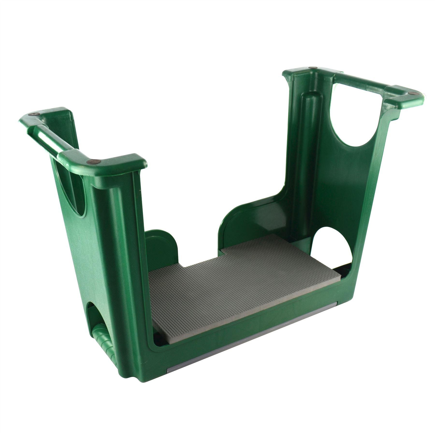 Portable Plastic Garden Kneeler Foam Chair Padded Storage ...