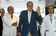 El Rey Juan Carlos tras una de sus intervenciones. EFE