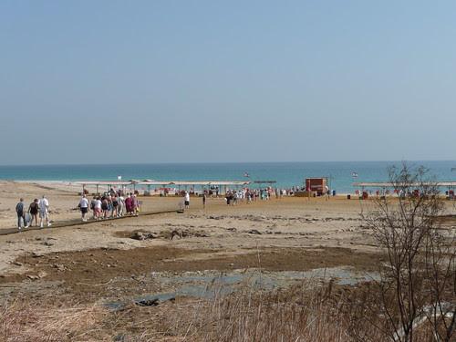 walking to the Dead Sea