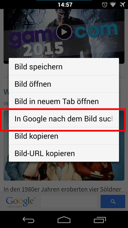 Rückwärtssuche Bilderkennung Google Bildersuche - Google