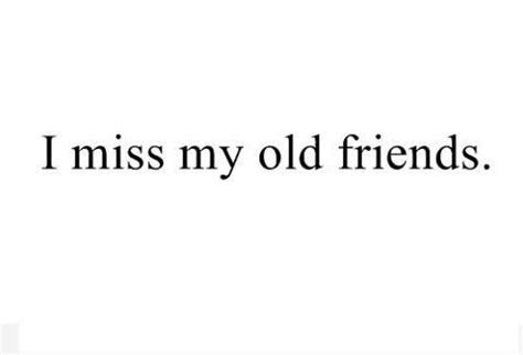 Miss You My Old Friend Quotes