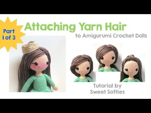 How to make crochet doll hair [tutorial] – The C Side | 360x480