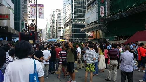 旺角の彌敦道