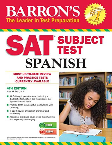 Telecharger Pdf Francais Free Barron S Sat Subject Test Spanish