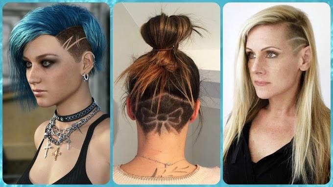 Peinados Con Corte Rapado Al Costado
