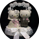 Hello Kitty Wedding Cake Topper   eBay