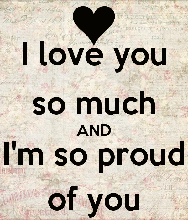 Quotes About Proud In Love 96 Quotes