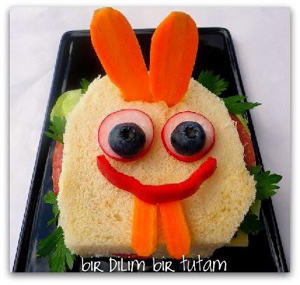 tavsan sandvic
