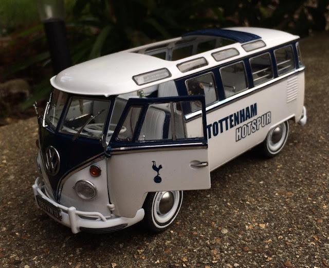 The Tottenham Hotspur livery van